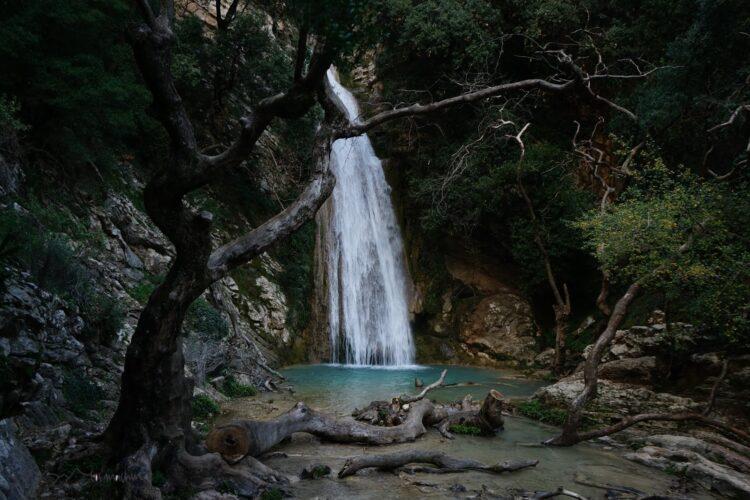 Wasserfall von Neda