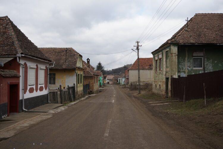 Alte Dorfstraße in Siebenbürgen
