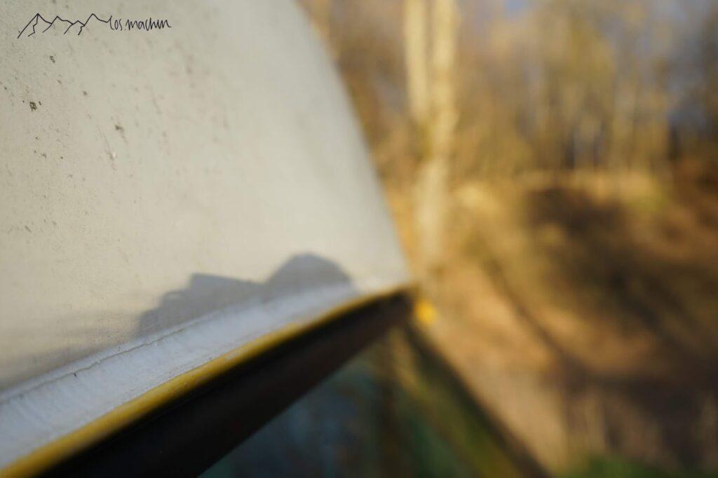 Reisemobil: Dachrinne neu abgedichtet