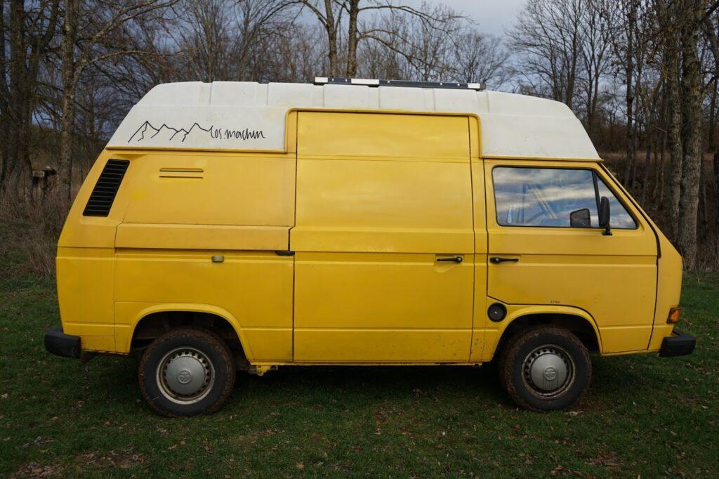 Reisemobil: VW T3 Seitenansicht