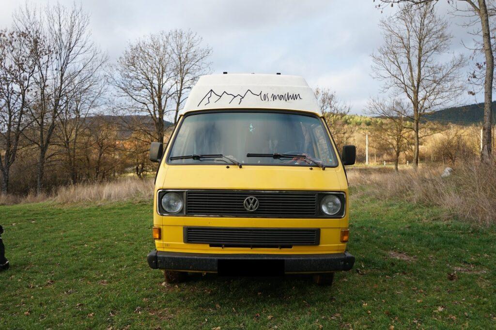 Reisemobil: VW T3 1986 vorn exPost