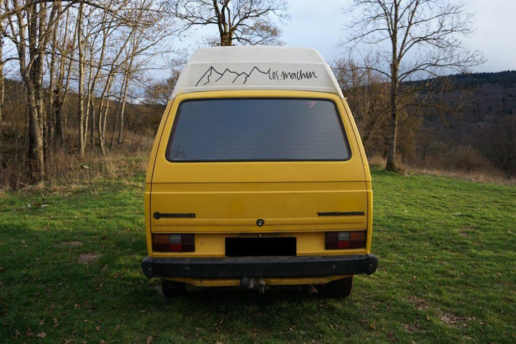 Reisemobil: VW T3 Hinten