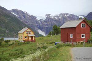 Gletscherblick Norwegen