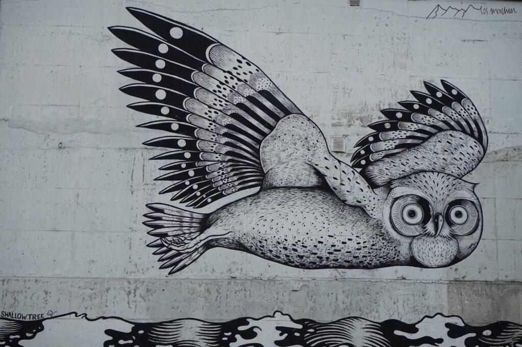 Roadtrip Norwegen Graffiti