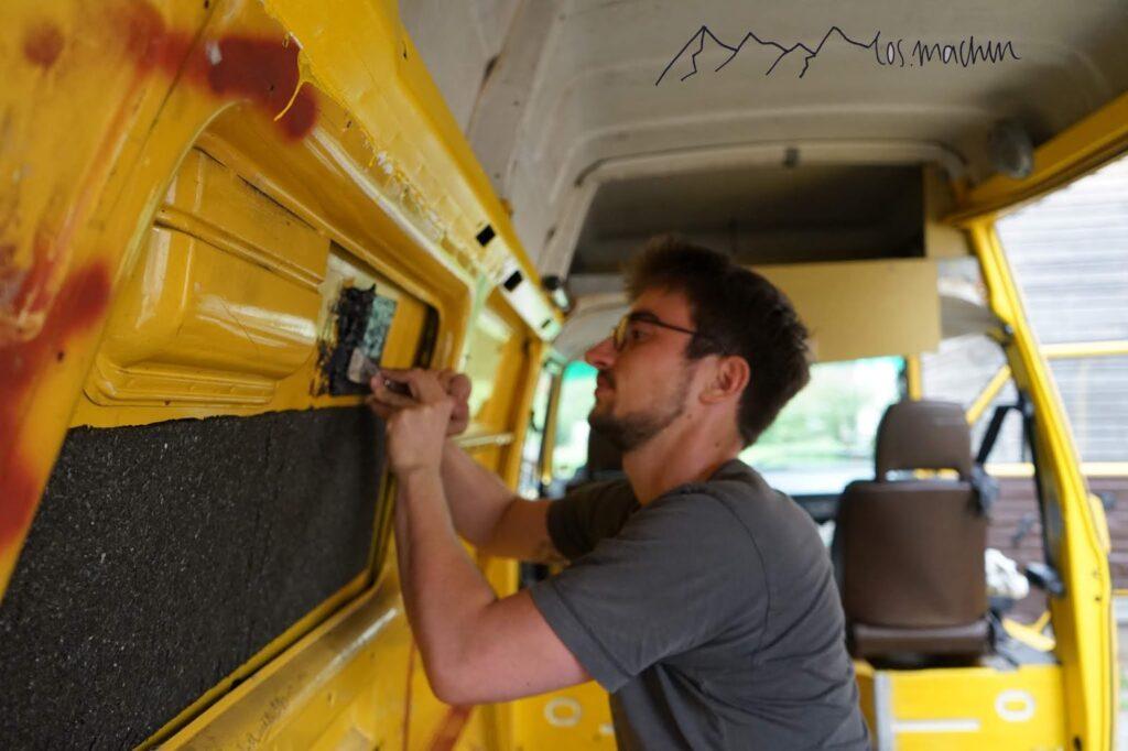 Entkernen Bus