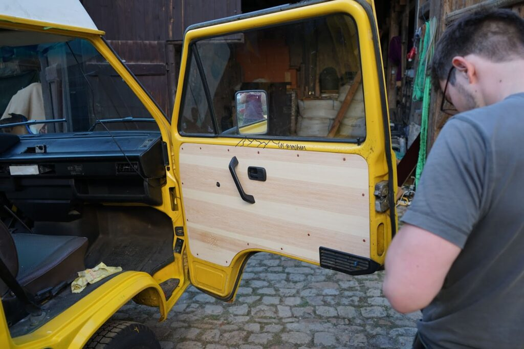 Türpappen ersetzt im VW t3