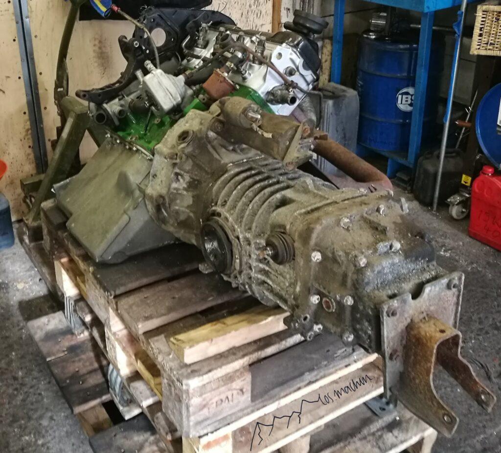 neuer Motor mit angeflanschtem Getriebe JX