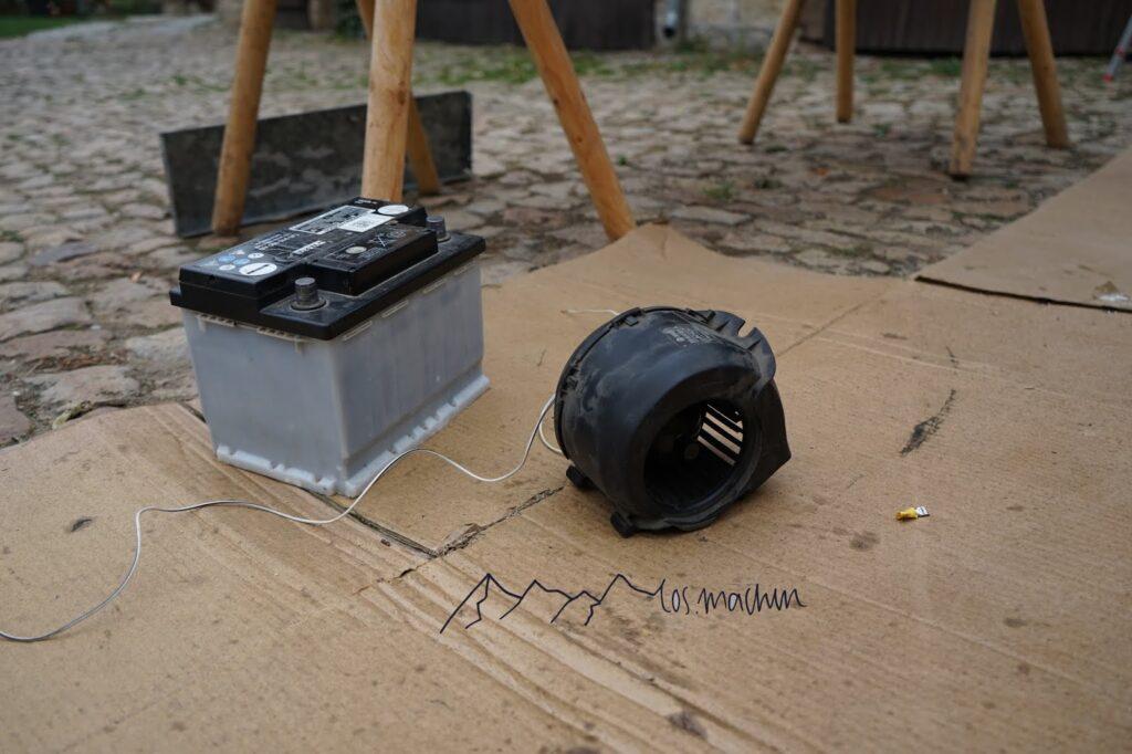 Austausch Ventilator Lüfter Heizung
