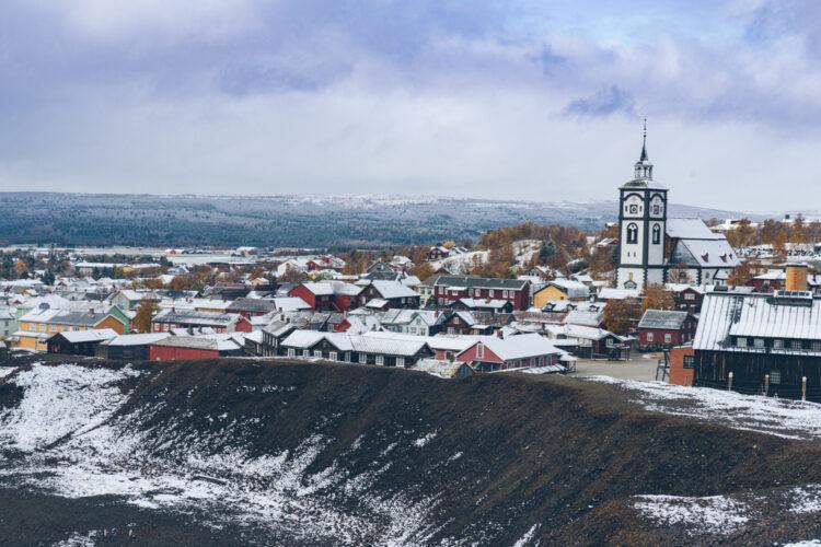 Roadtrip Norwegen: Blick auf Røros