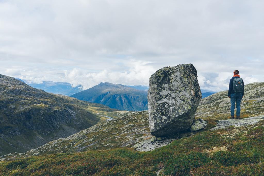 WorkandTravel und Vanlife: Ausblick auf die norwegische Landschaft