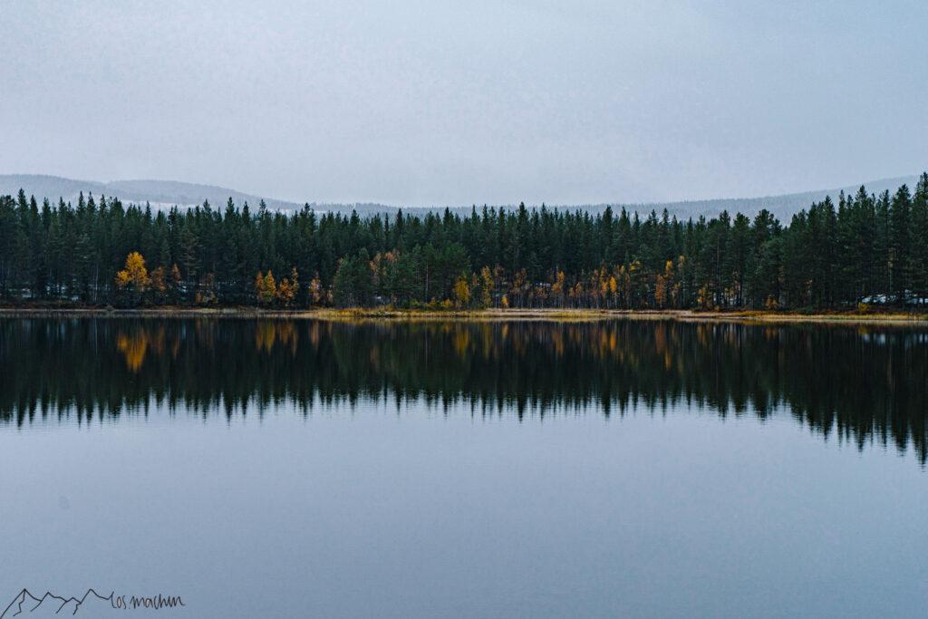 Roadtrip Schweden: Blick über einen See
