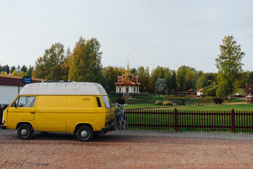 Thailändischer Tempel Schweden Roadtrip Schweden