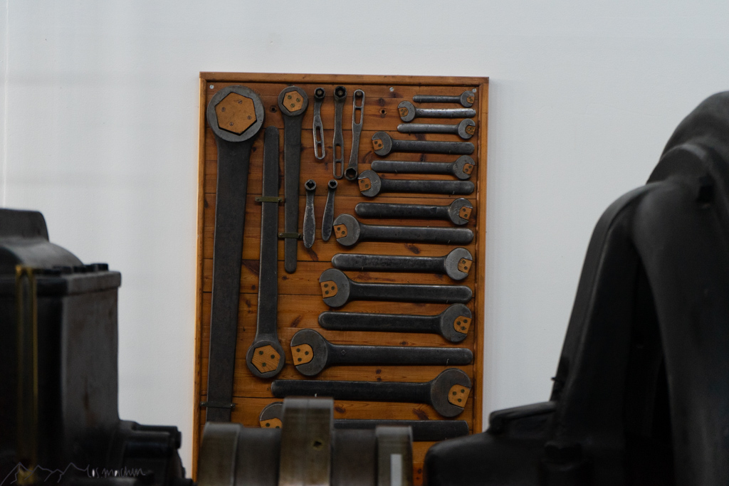 Grimeton Werkzeug