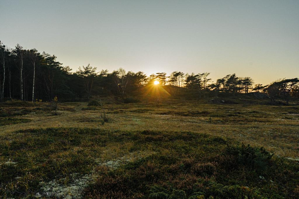 Sonnenuntergang auf Konter